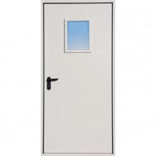 Дверь стальная противопожарная с остеклением EI-60