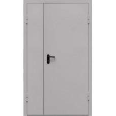 Противопожарная  стальная дверь двустворчатая EI- 60